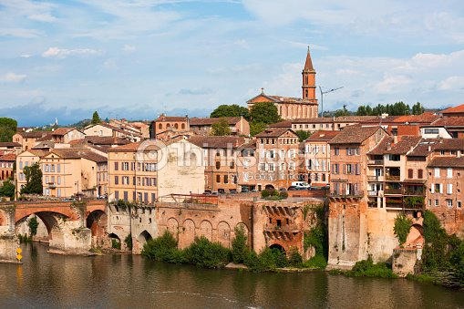 old town of albi france stock photo thinkstock