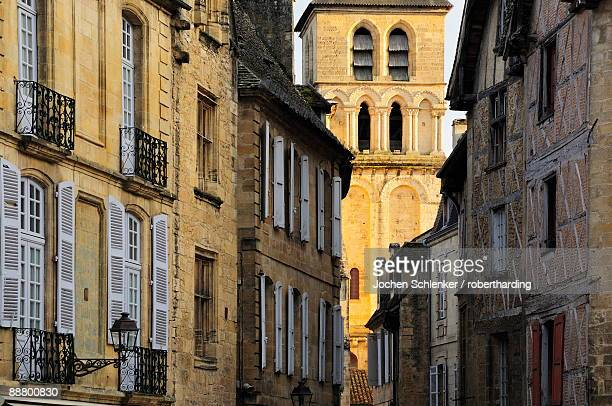 Old town of Sarlat-la-Caneda, Aquitaine, France, Europe