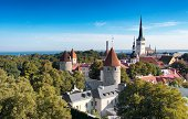 Old Town of Tallinn  From  Toompea hill
