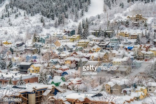 Old Town Park City : Stock Photo