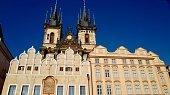 Stare Mesto or Prague Old Town Square ( Staromestske Namesti) in Czech