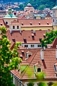 Cityscape and Stare Mesto of Prague