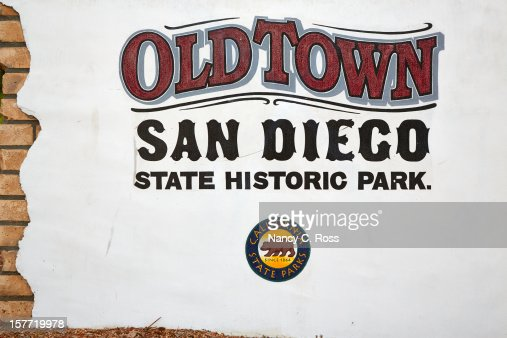 Old Town San Diego Welcome Sign