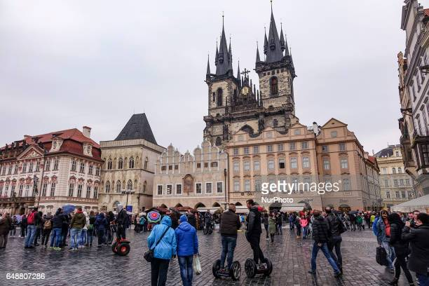 Old Town Square is a historic square in the Old Town quarter of Prague the capital of the Czech Republic