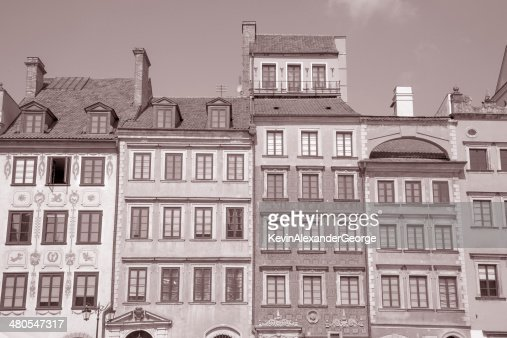 Old Town Square, Warsaw, Poland : Stock Photo