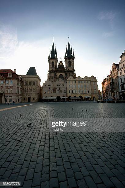 Old Town Square With The Church Of Our Lady Before Tyn Prague Czech Republic