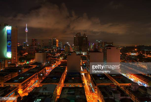 Old Town with Kuala Lumpur tower