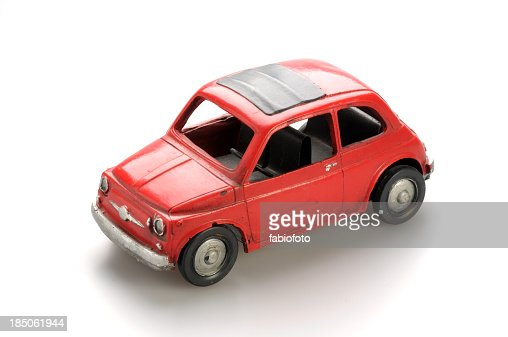 old toy car stock photo