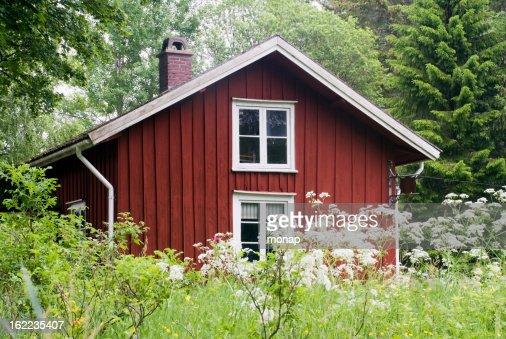 伝統的なコテージスウェーデンから