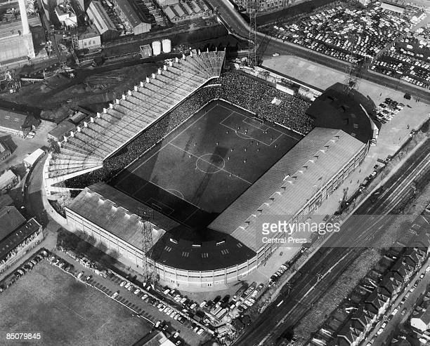 Old Trafford football stadium in Greater Manchester 31st March 1966