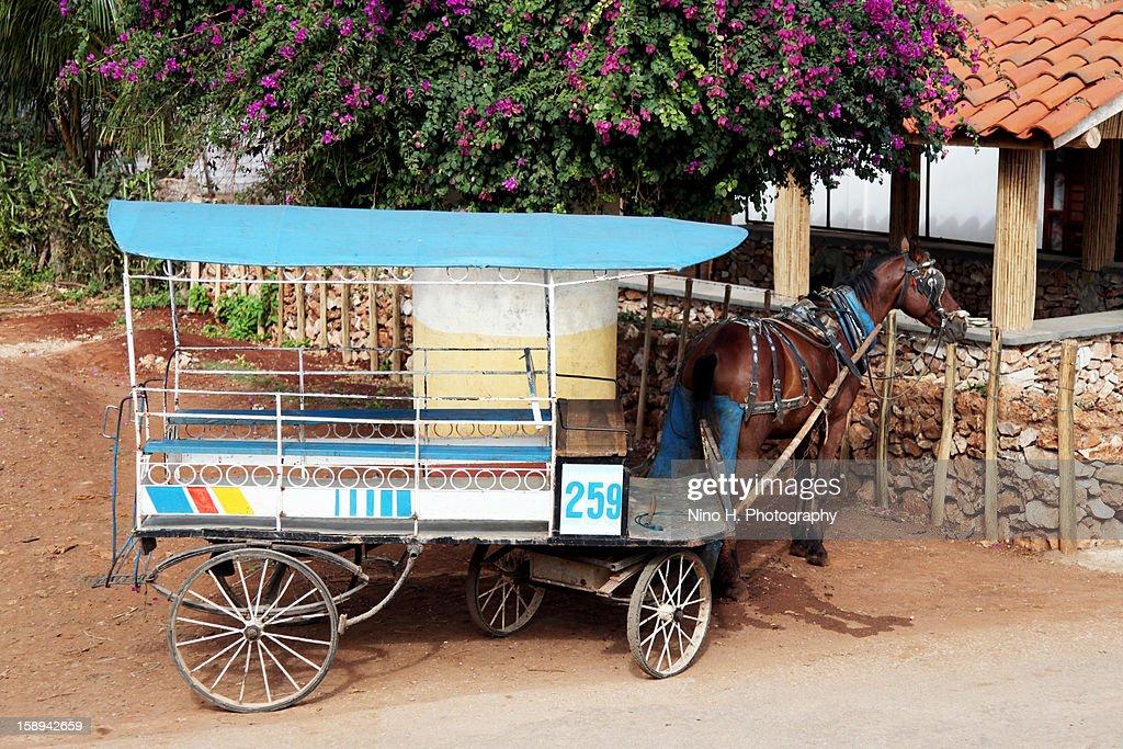 Old transportation : Stock Photo