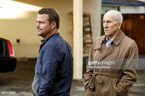 'Old Tricks' Pictured Chris O'Donnell and Daniel J Travanti After a retirement home resident is kidnapped the NCIS team uncovers a pair of con...