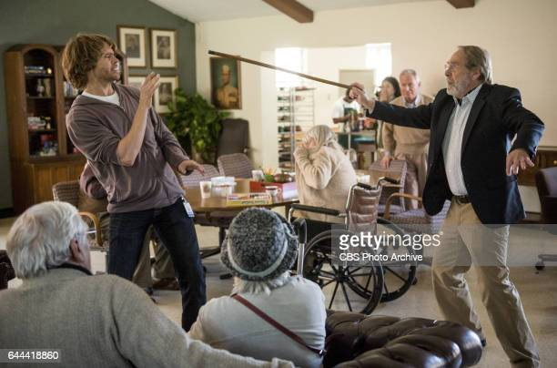 'Old Tricks' Pictured Eric Christian Olsen and Martin Mull After a retirement home resident is kidnapped the NCIS team uncovers a pair of con artists...