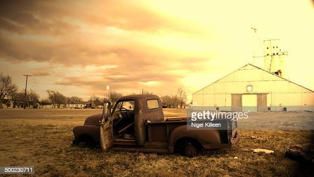 Old truck Groom Texas