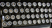 Old Typewriter Letter's