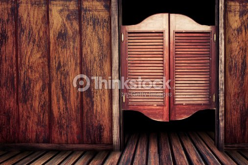 vintage vieux saloon en bois portes photo thinkstock. Black Bedroom Furniture Sets. Home Design Ideas