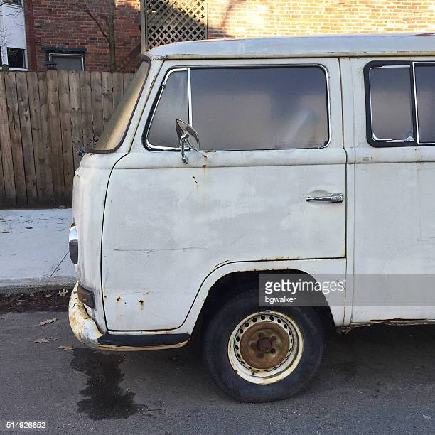 Alte VW Transporter in Pittsburgh