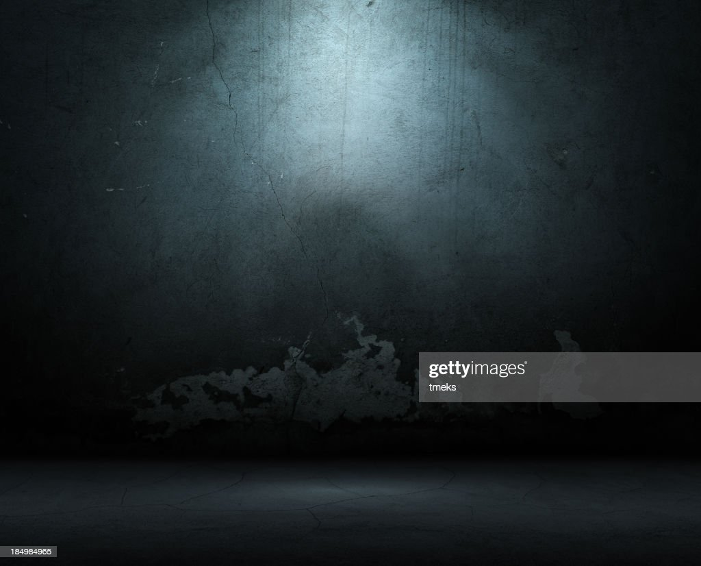 Old wall background with long cracks : Stock Photo