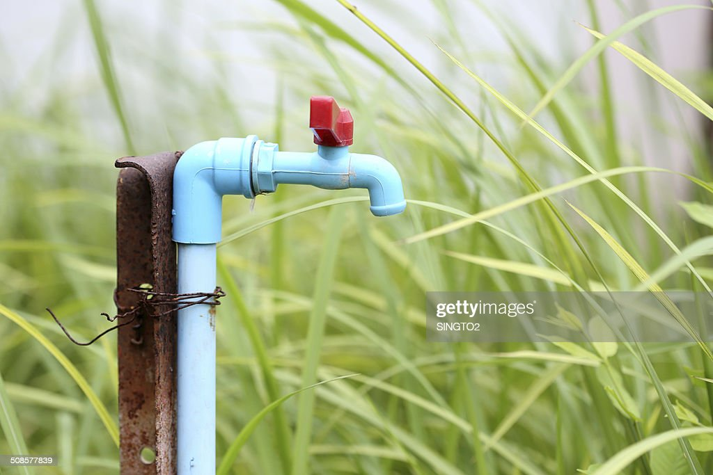 Old water tap : Stock Photo