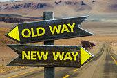 Old Way vs New Way