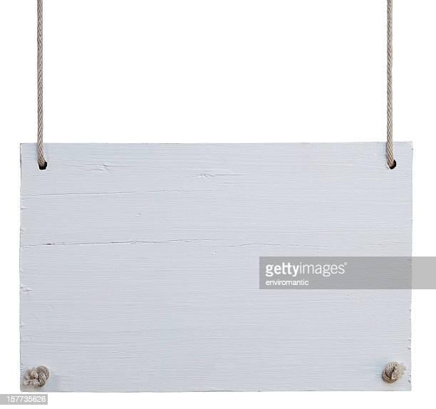 Edad Antigua signboard de madera blanca.