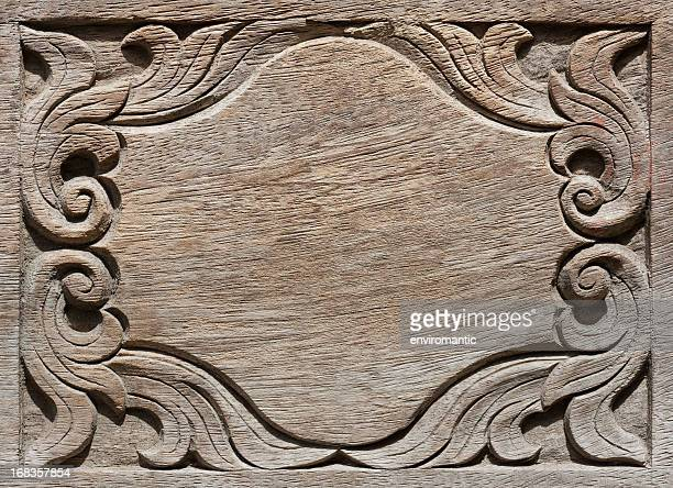 Wood carving patterns stock photos and pictures getty images