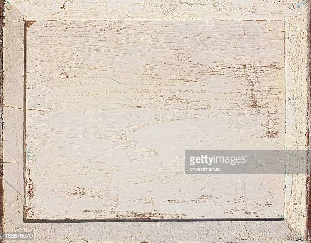 Old weathered wood panel background.