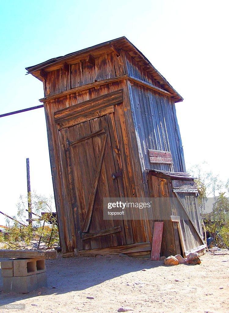 Old West Explosives Storage Shack : Stock Photo
