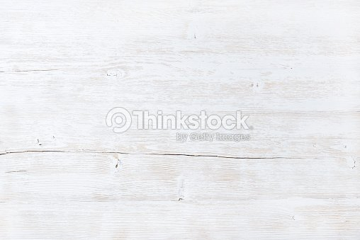 Old white painted wooden texture, wallpaper or background : Photo
