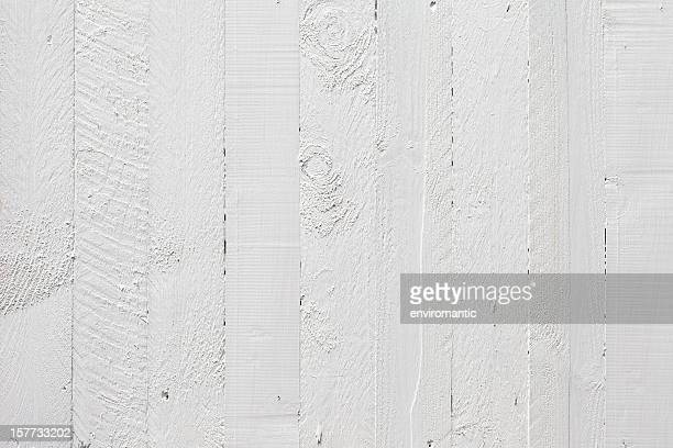 Old white wooden fence background.