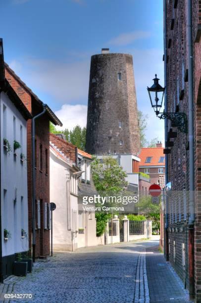 Old Windmill in Kaiserswerth - Düsseldorf, Germany