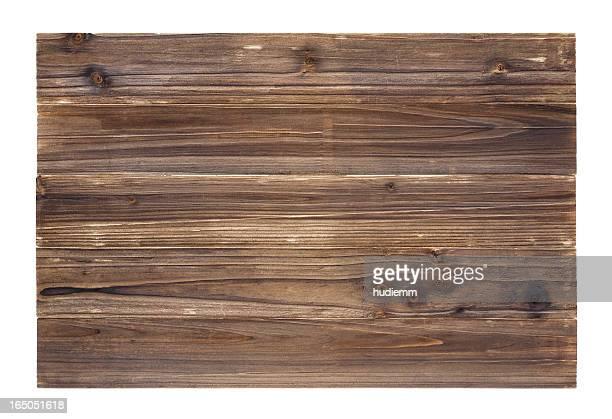 Vecchio sfondo di pannelli in legno chiaro (Full Frame)