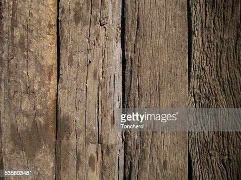 Alten hölzernen Planken, Leinentextur : Stock-Foto