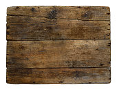 Old wooden box marked time.Background, texture,isolated.