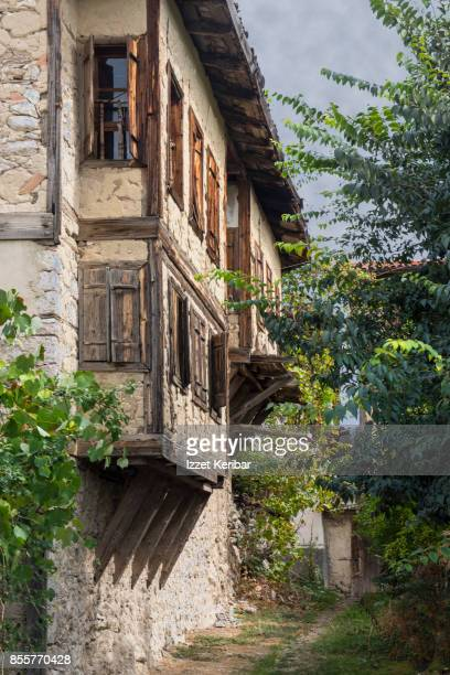 Old wooden mansion of Yoruk village near Safranbolu, Karabuk, Turkey