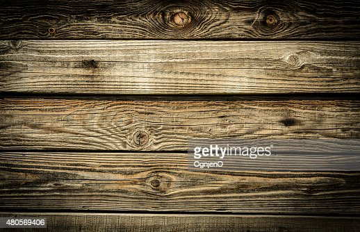 Old Wooden Planks grunge background : Stock Photo