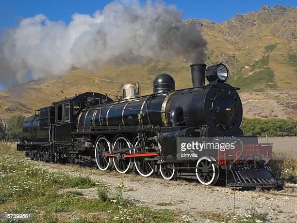 Alte Dampflokomotive Arbeiten