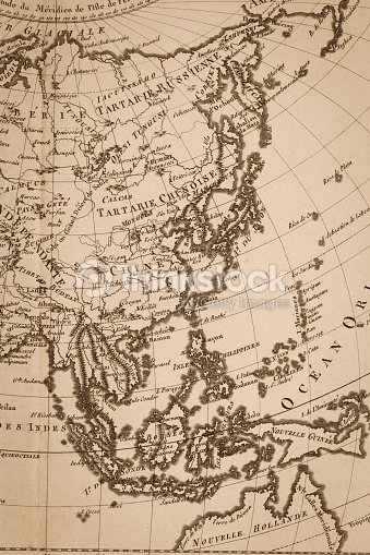 Old world map japan and east asia stock photo thinkstock old world map japan and east asia stock photo gumiabroncs Image collections