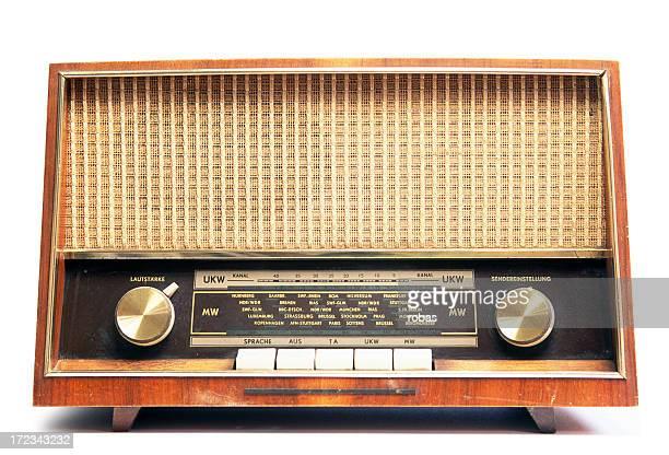 Vieux usé radio