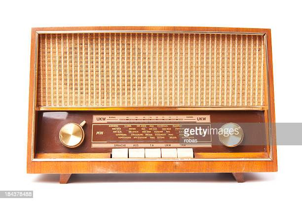 Old worn radio