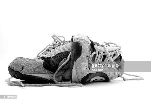 Old wornout trainers