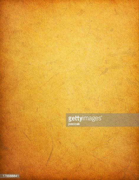 Old Yellow Paper Background with Stains