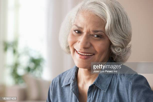 Older Black woman smiling