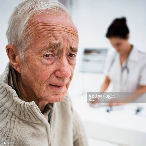 Older Man in Doctors Office