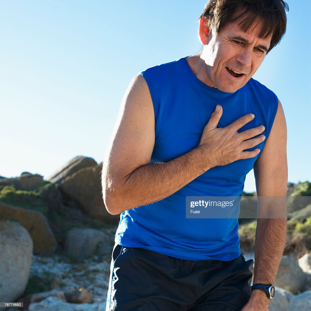 Older Man Out of Breath