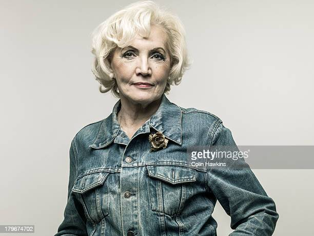 Older Stylish woman