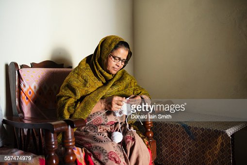Indian Grandmother Stock Photos and Pictures | Getty Images