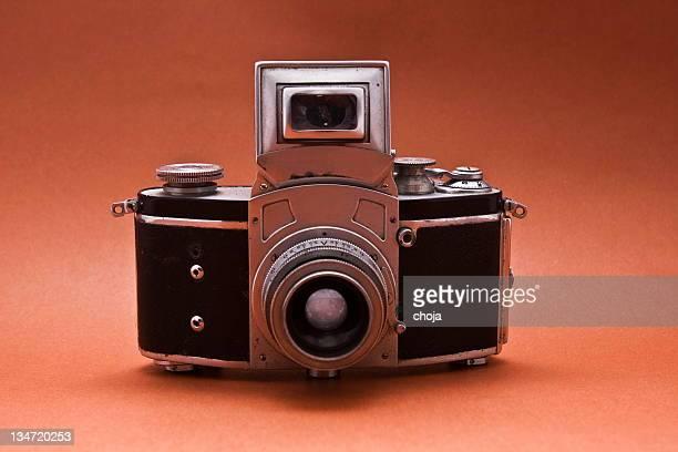 Old-fashioned 35mm camera