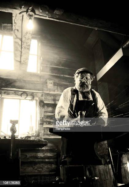 Old-Fashioned Blacksmith