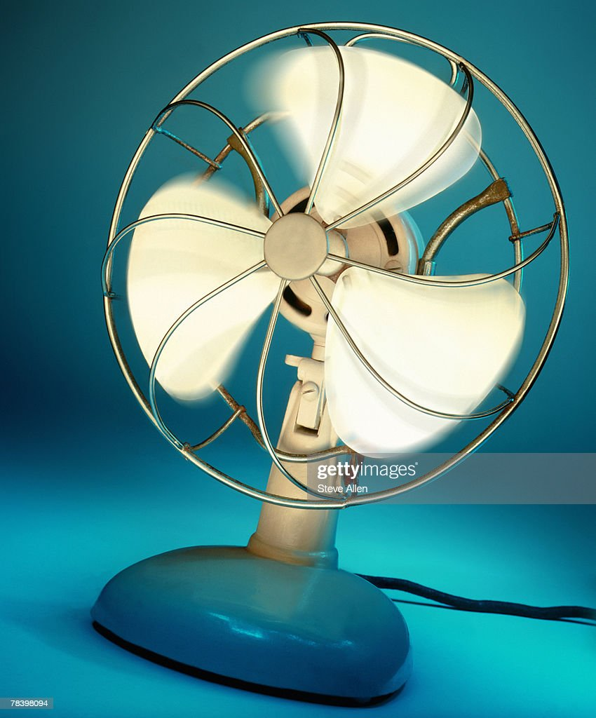 Old-fashioned fan : Stock Photo